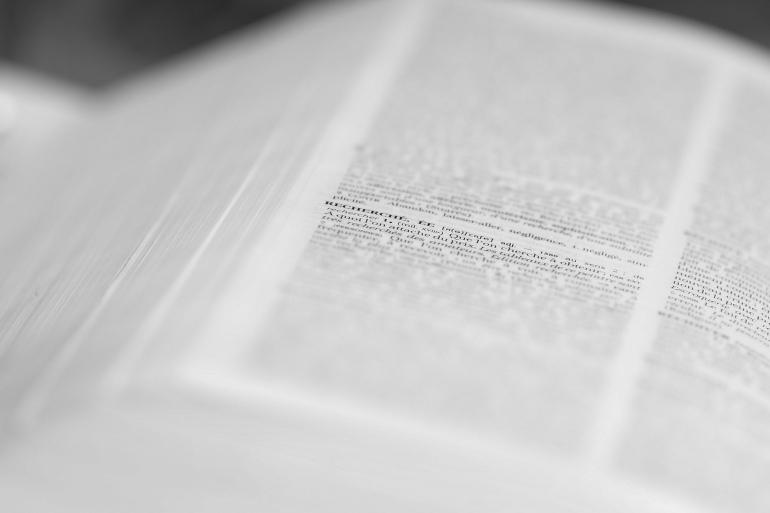 Cherchons une définition de la dyslexie Crédit photo : Flickr - Arnaud Limbourg